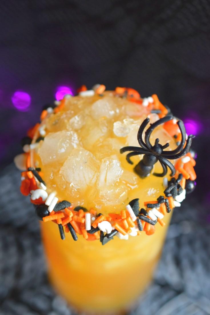 Spider Cider Cocktail