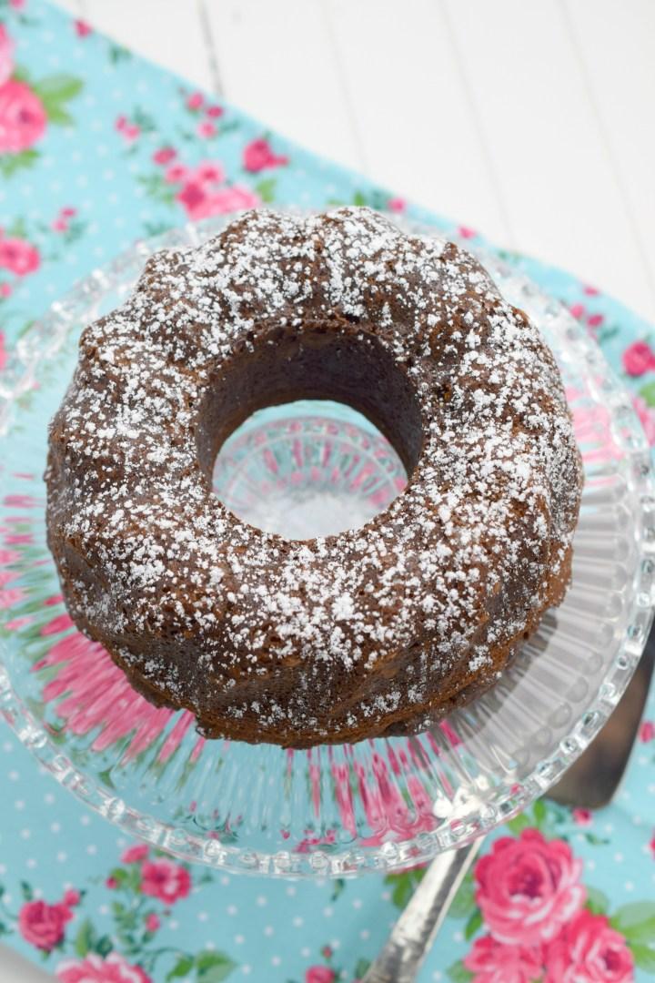 Air Fryer Chocolate Cake