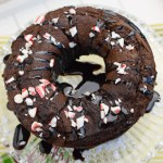 Chocolate Peppermint Cookies & Cream Bundt Cake