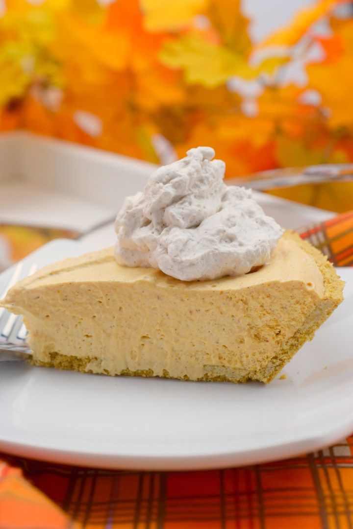 Marshmallow Mousse Pumpkin Pie