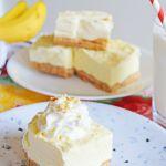 Creamy Banana Cheesecake Bars