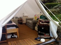 Tent In Living Room & Creative Polyester Yoga Mats Flannel ...