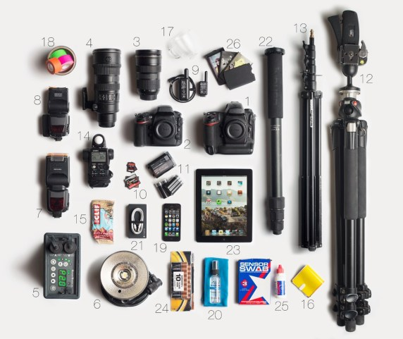 Gear List, the Tools of my Trade