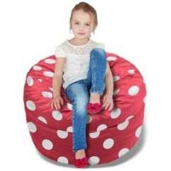 Bean Bag Chairs For Boys Beach Table And Best Kids Whooops A Daisy Polka Dot Beanbag