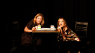 """Amy Cooke Hodgson & Sharon Maughan in """"The M Word"""" by Brian Redmond."""