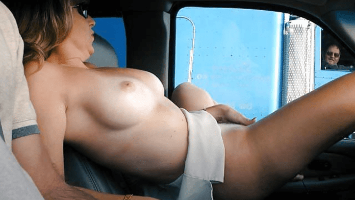 A Hotwife puts on a show at a North Texas truck stop