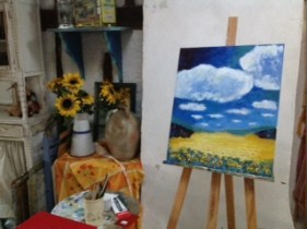 Heike: daylong - my landscape - still challenging, I know why I dislike doing them...