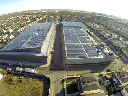 EnterSolar Powers Bloomberg in Manhattan