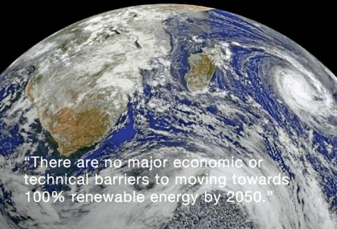 Renewable Energy, 100% Possible by 2050
