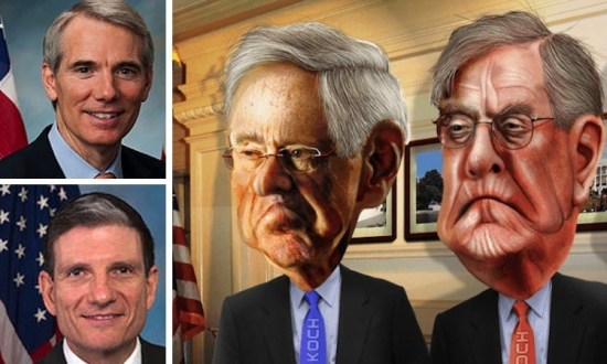 Koch Brothers Dump Trump