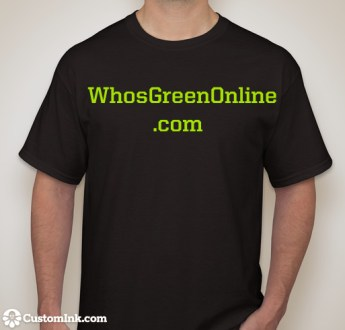 WhosGreenOnline.com, From Us to You