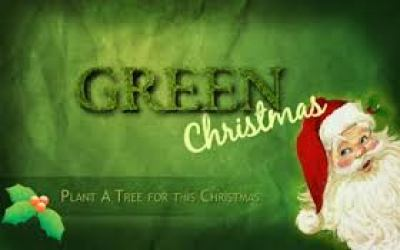 merry green christmas