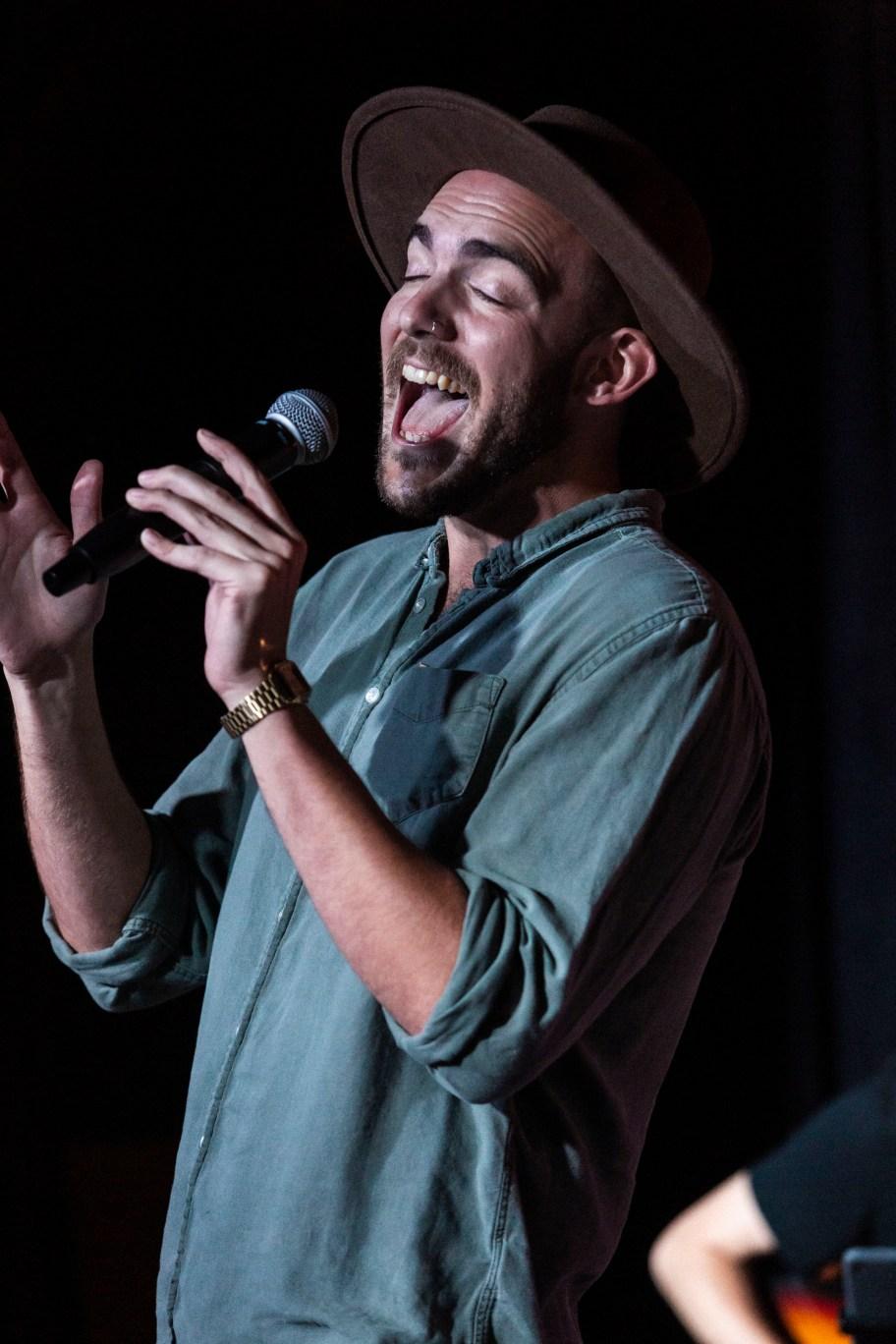Musical Guest Luke Strand.