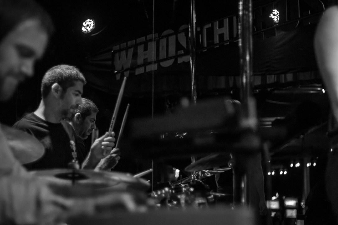Who's the Ross? - Kit Kat Club - THEM! THE BAND! drummer Tony Lintz