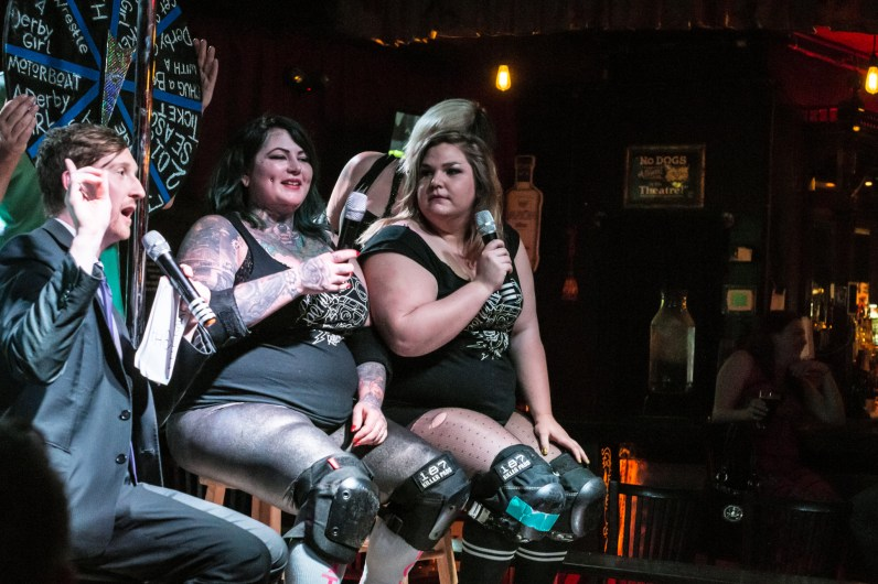Who's the Ross? - Kit Kat Club - Portland Renegade Roller Derby Interview
