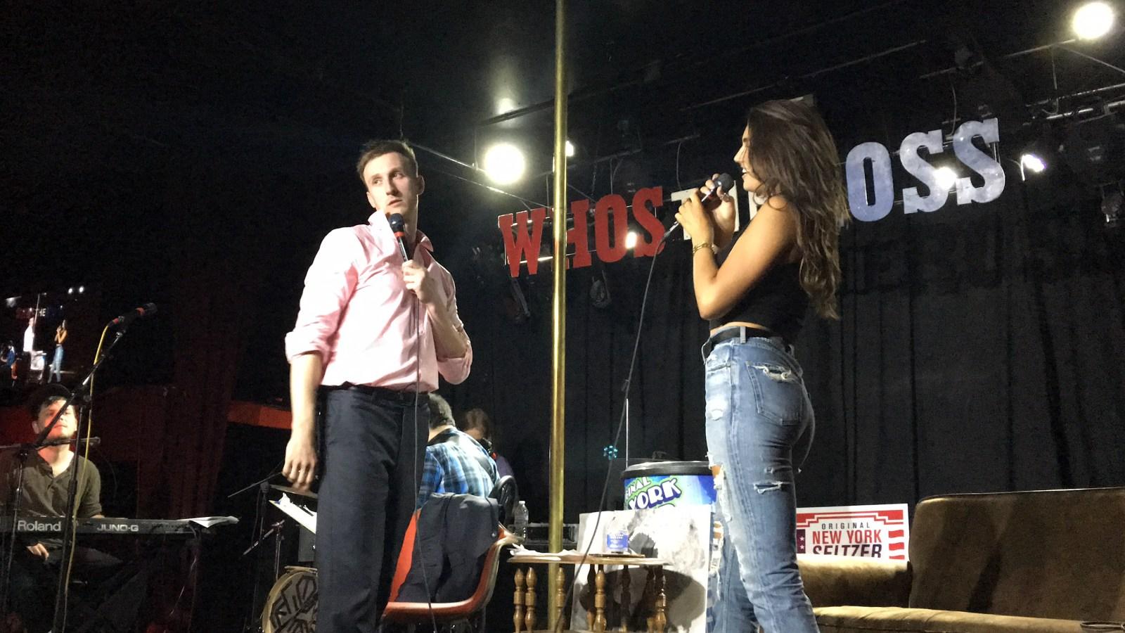 hailee lautenbach model modeling comedian comedy Aaron Ross who's the ross? dante's live Portland PDX