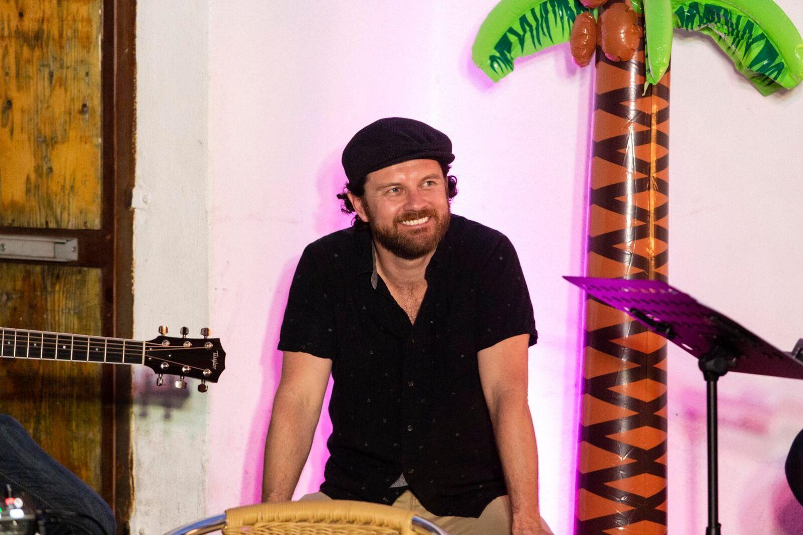 Band-leader Scott Wittenberg