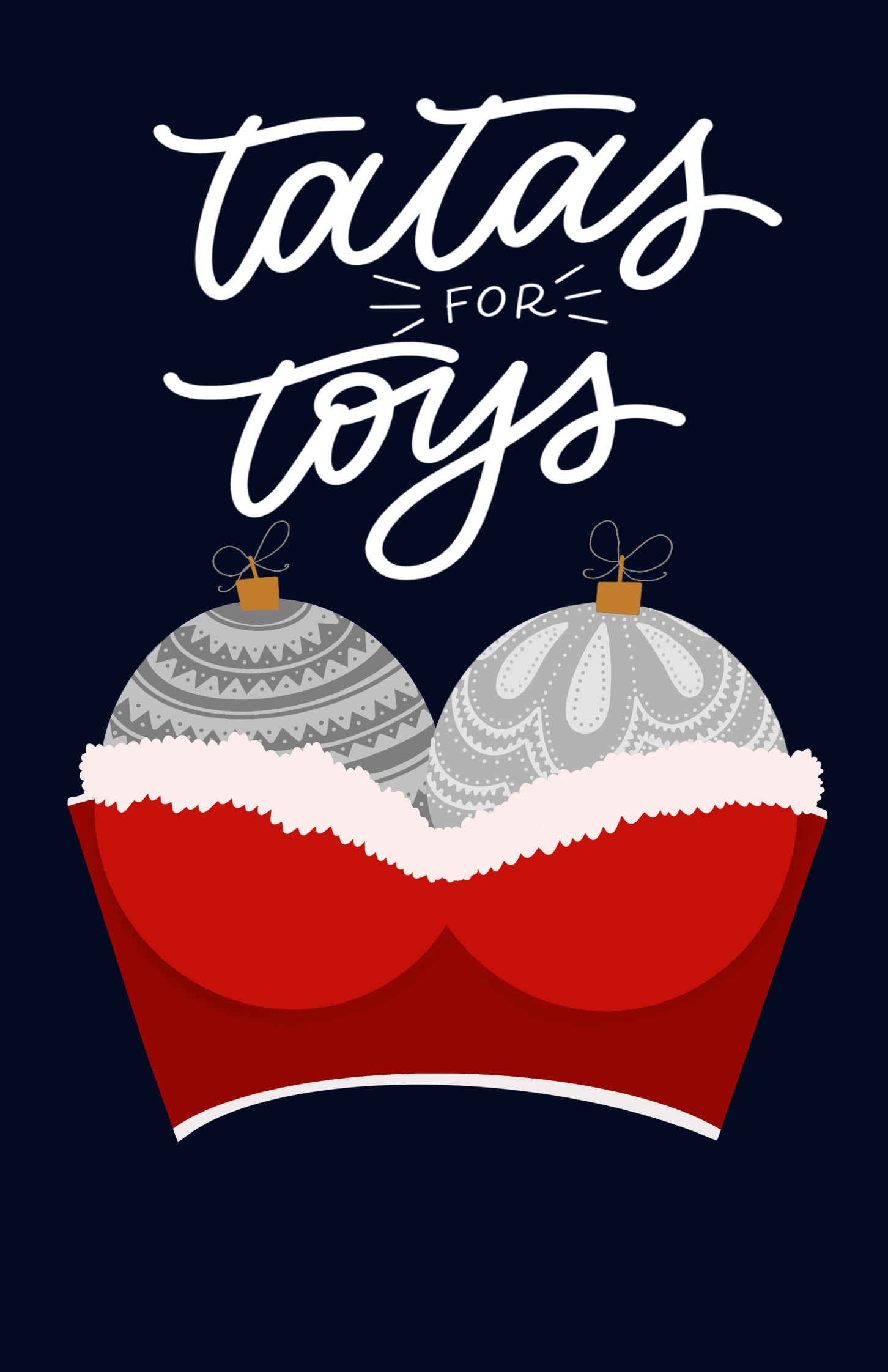 TATAS for TOYS portland pdx event strippers strip club Xmas Holiday benefit comedy comedian Aaron Ross Dante's