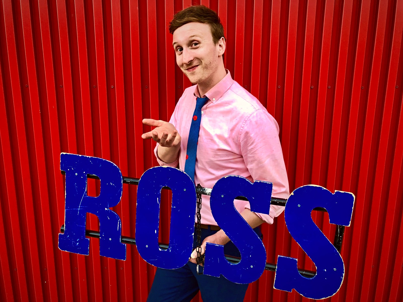 """Who's the Ross?"" Aaron Ross comedian comedy host late-night talk show LA Los Angeles Hollywood"
