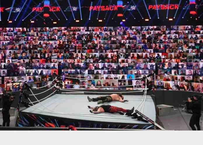 WWE ThunderDome wresting