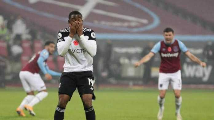 Westham vs Fulham: Lookman apologises for poor penalty kick