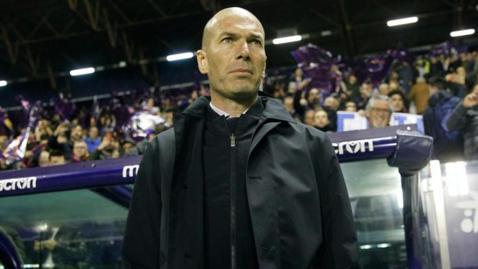 Zidane says no excuse for Real MAdrid loss