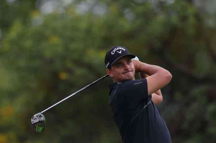 SUN CITY, SOUTH AFRICA - DECEMBER 03: Christiaan Bezuidenhout during day 1 of the 2020 SA Open Championship at Gary Player Country Club on December 03, 2020 in Sun City, South Africa. EDITOR'S NOTE: For free editorial use. Not available for sale. No commercial usage. (Photo by Carl Fourie/ Sunshine Tour /Gallo Images)