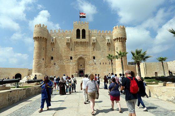 The Citadel of Qaitbay, Egypt
