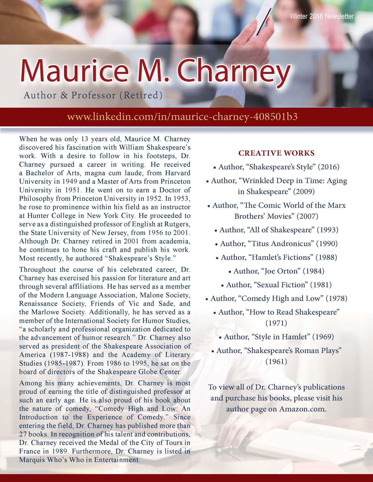 Charney, Maurice 3693647_19813039 Newsletter REVISED.jpg