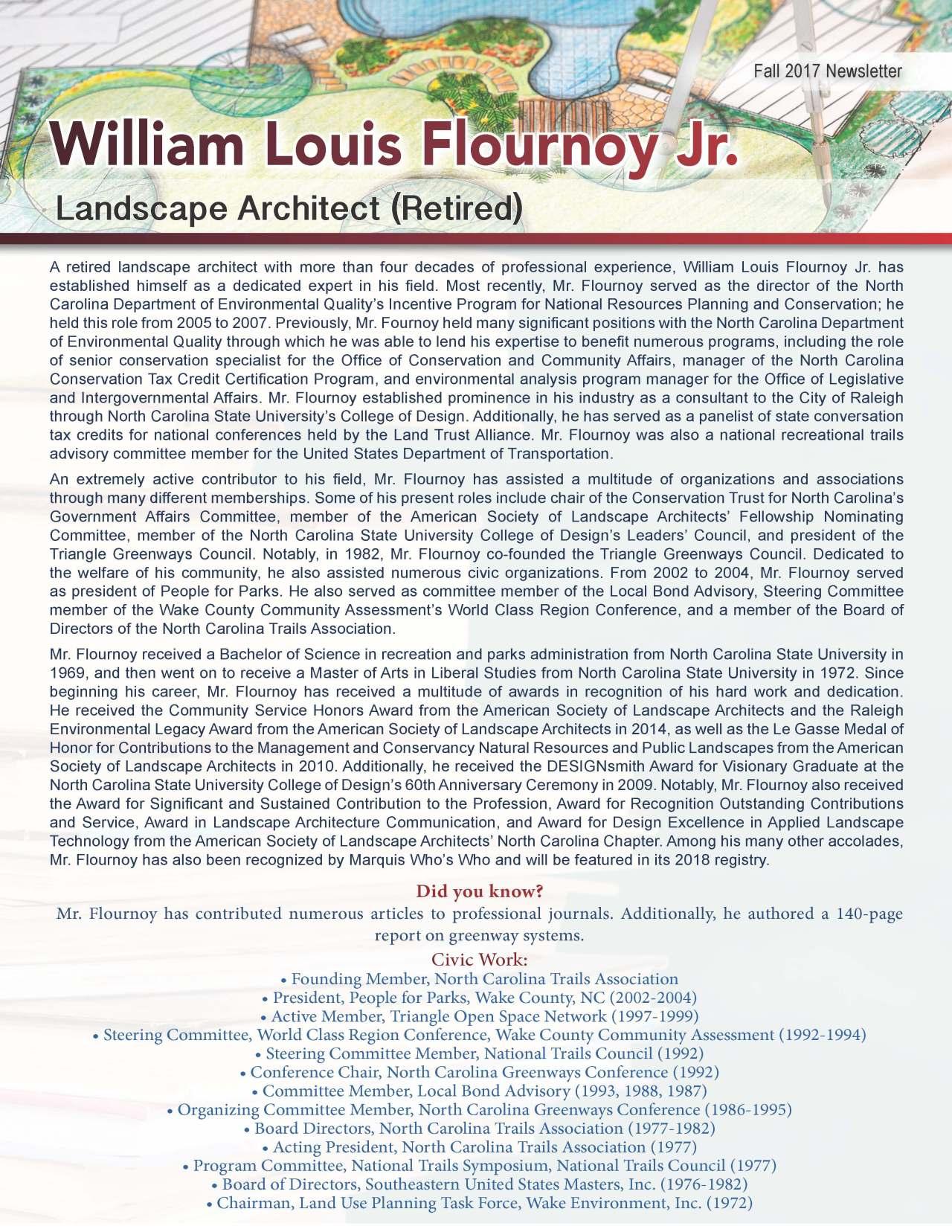 Flournoy, William 3635231_23803687 Newsletter.jpg