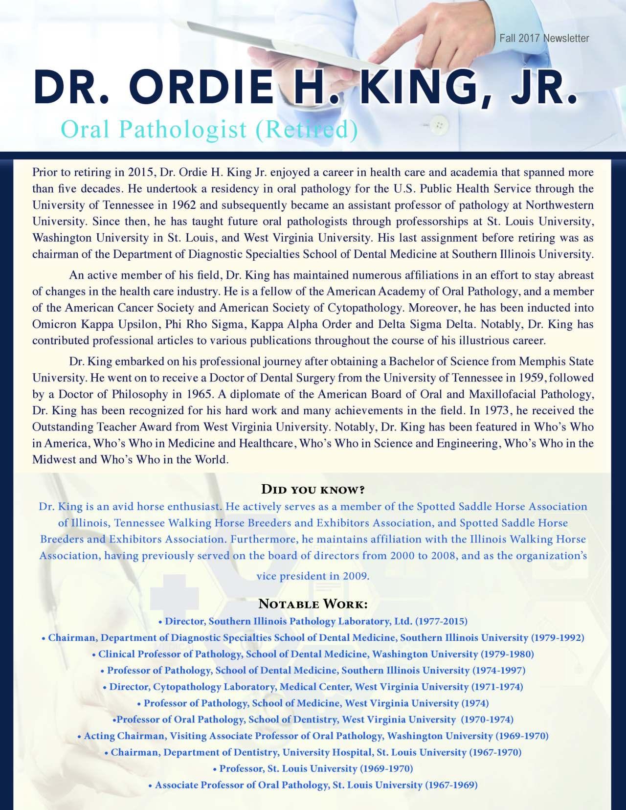 King, Ordie 2188099_18229005 Newsletter