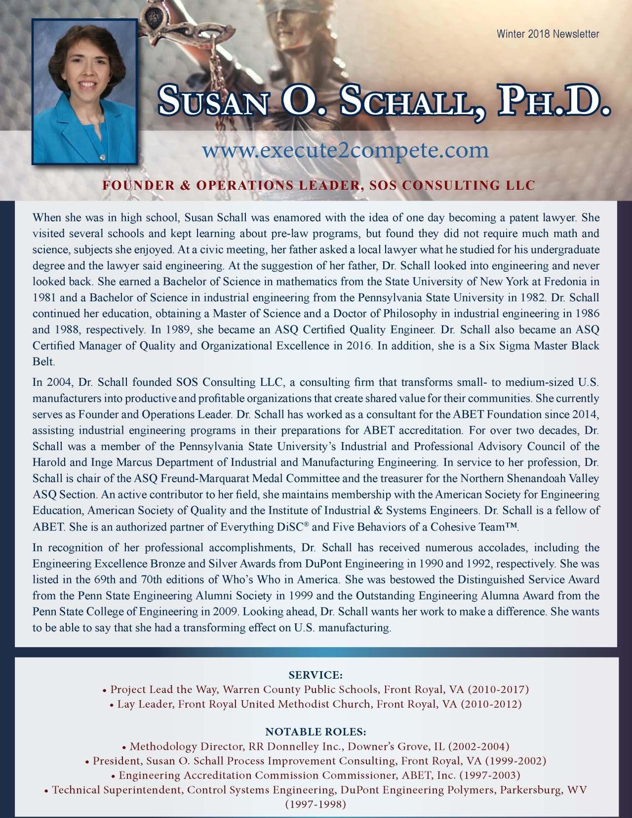 Schall, Susan 2126573_36857181 Newsletter REVISED