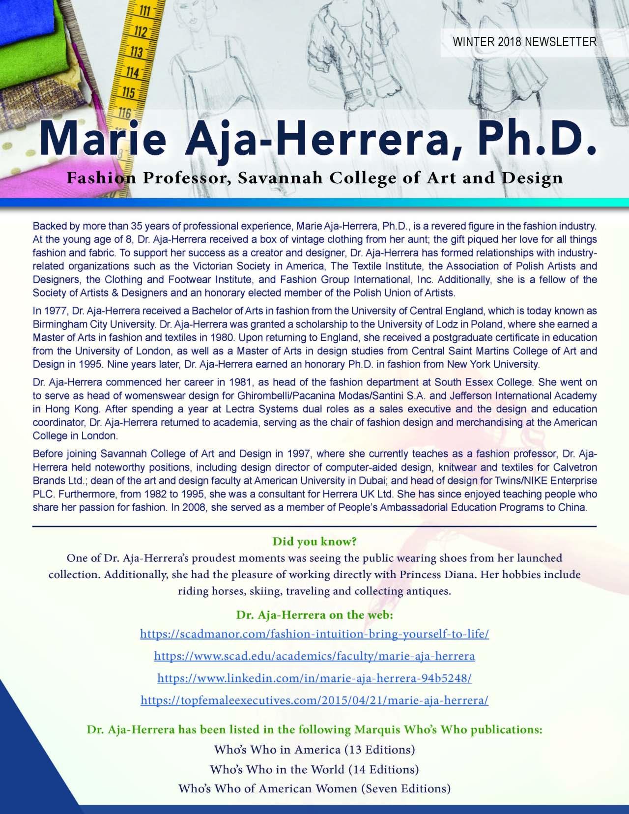 Aja-Herrera, Marie 3710544_28488443 Newsletter