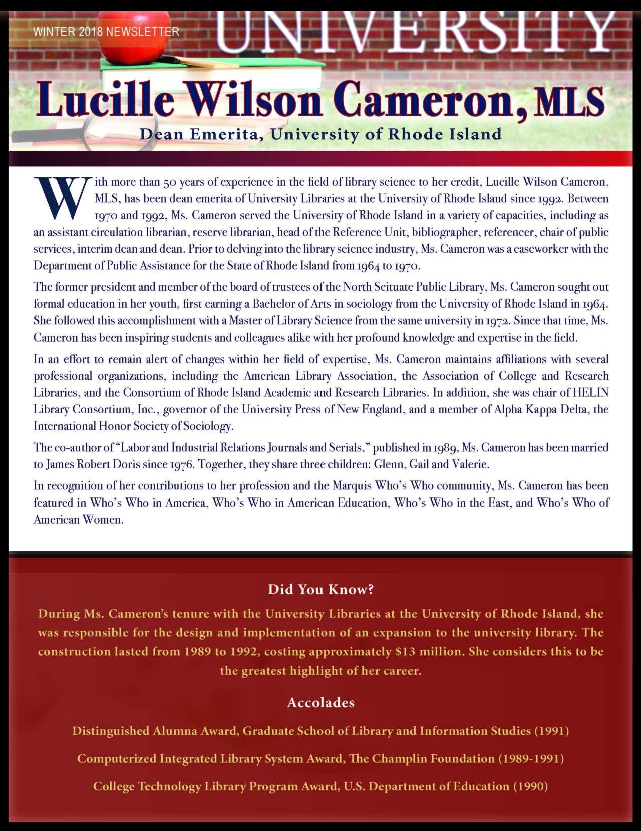Cameron, Lucille 3657009_22262232 Newsletter.jpg