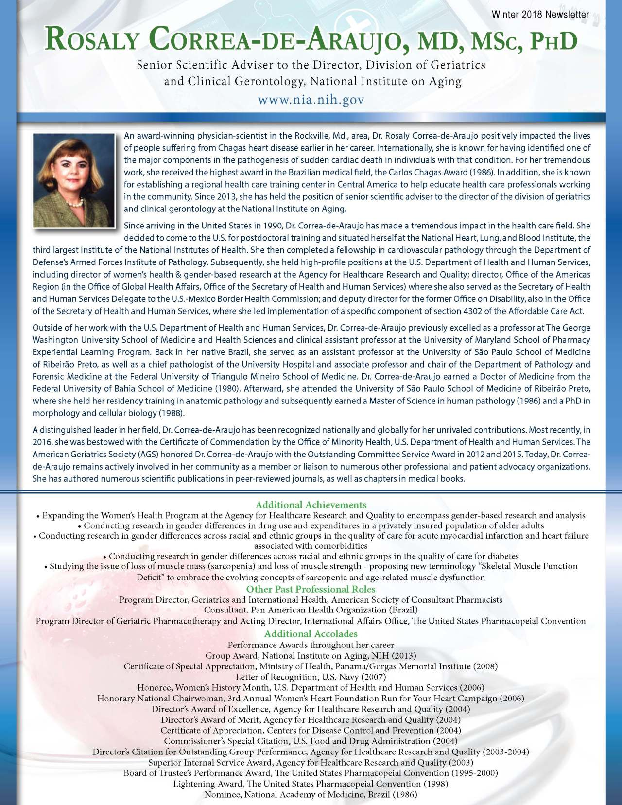 Correa-de-Araujo, Rosaly 3698888_31759959 Newsletter REVISED