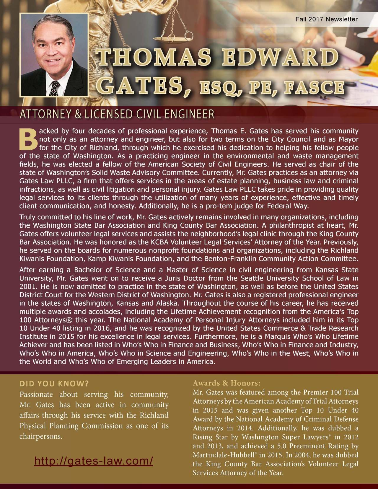 Gates, Thomas 2131554_16962037 Newsletter REVISED