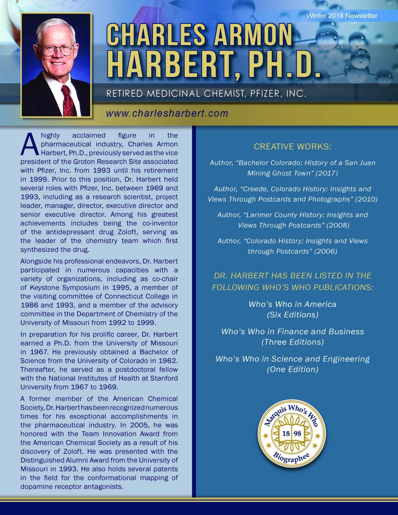 Harbert, Charles 3624981_25608894 Newsletter