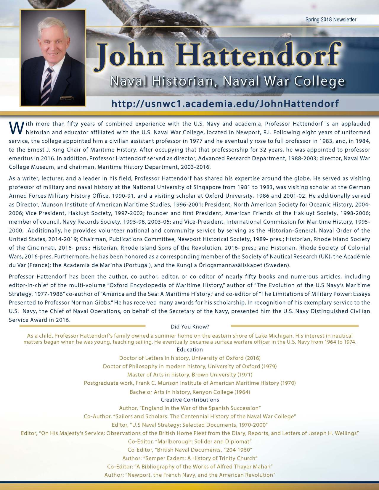 Hattendorf, John 3711026_4003711026 Newsletter REVISED