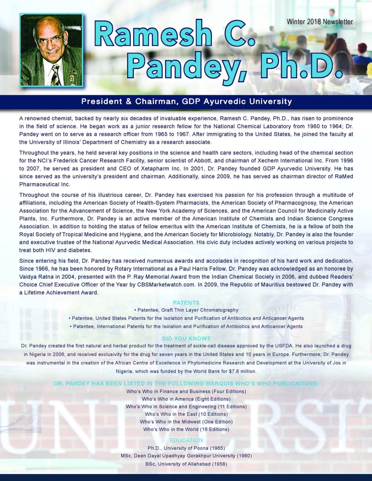 Pandey, Ramesh 2133248_686253 Newsletter