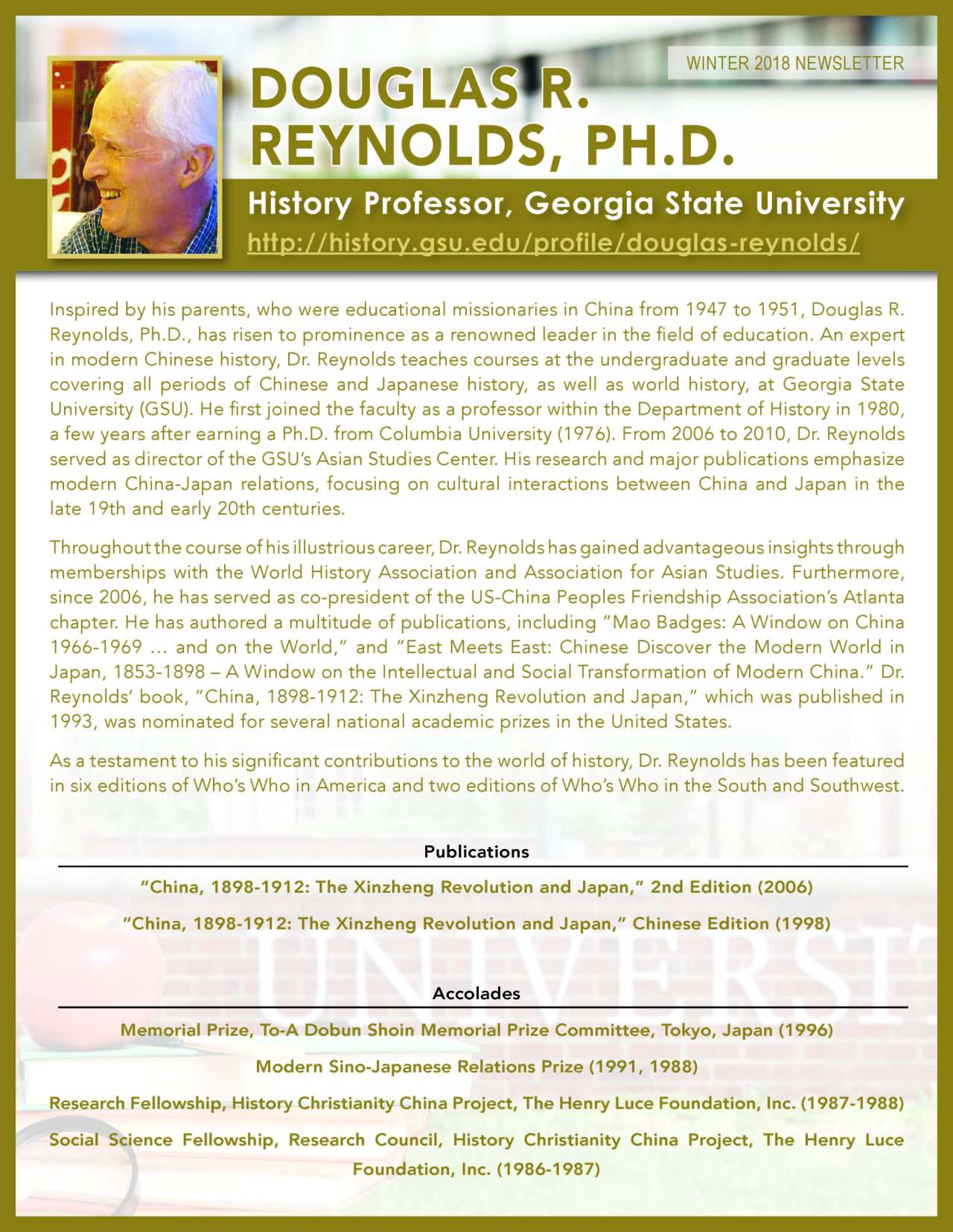 Reynolds, Douglas 2145187_34310379 Newsletter