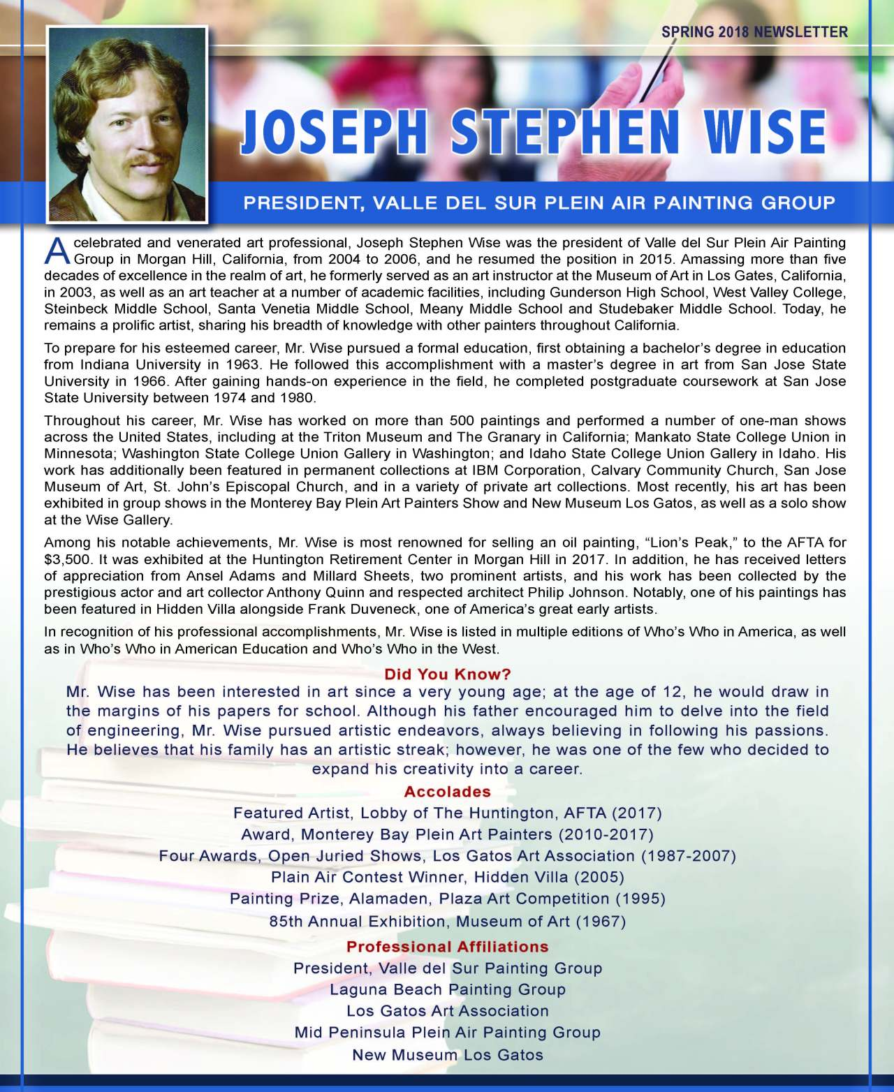 Wise, Joseph 3711420_26469643 Newsletter REVISED.jpg