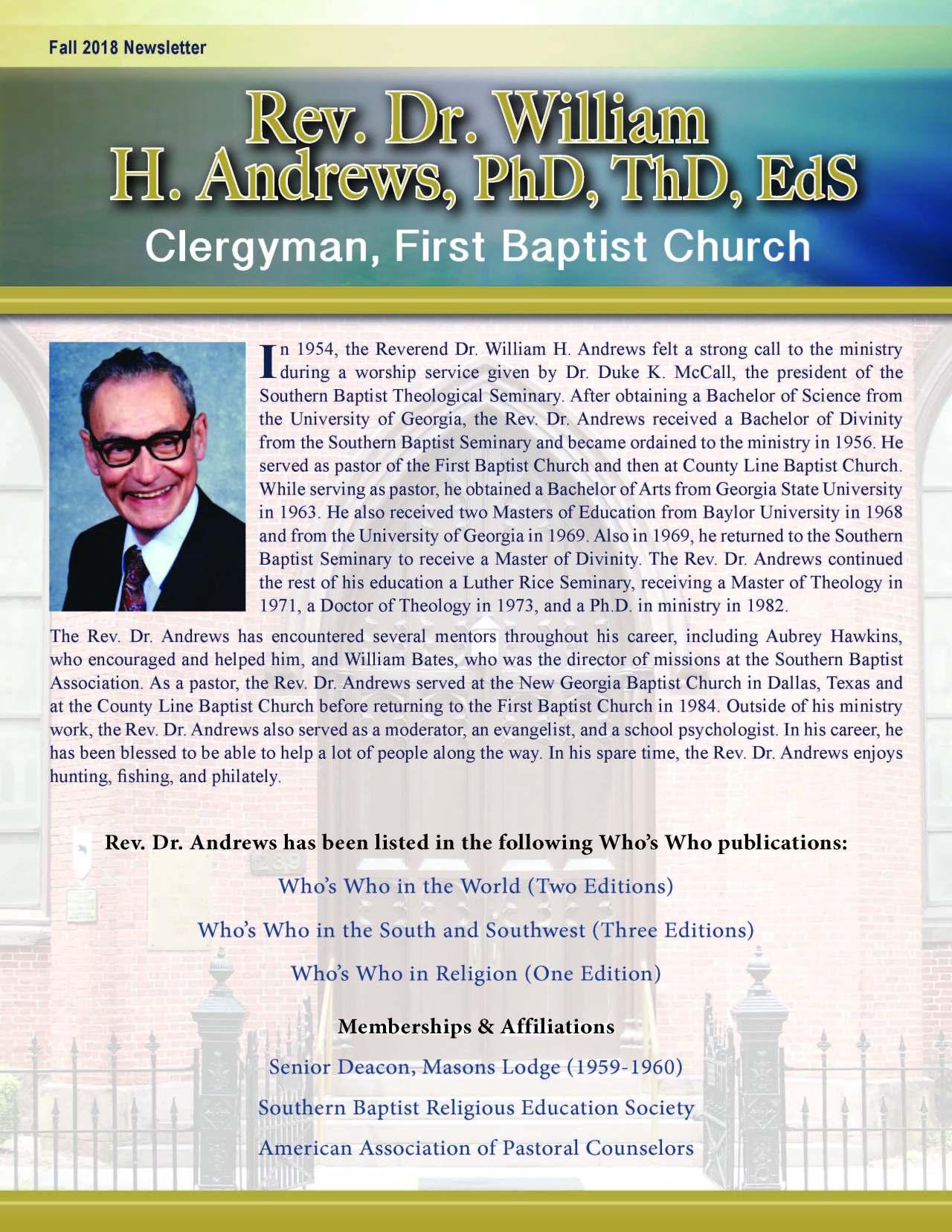 William H. Andrews