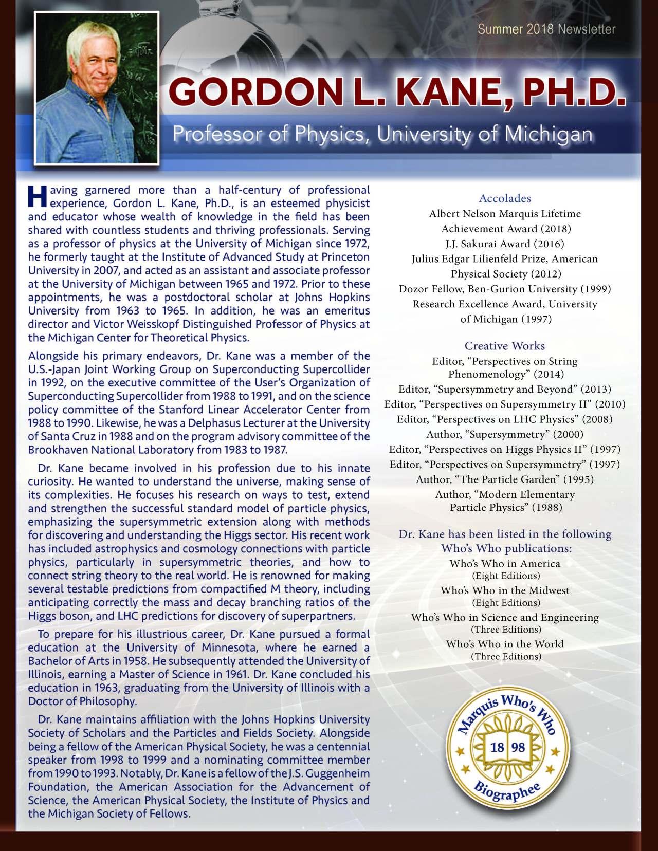 Kane, Gordon 3646190_20823150 Newsletter