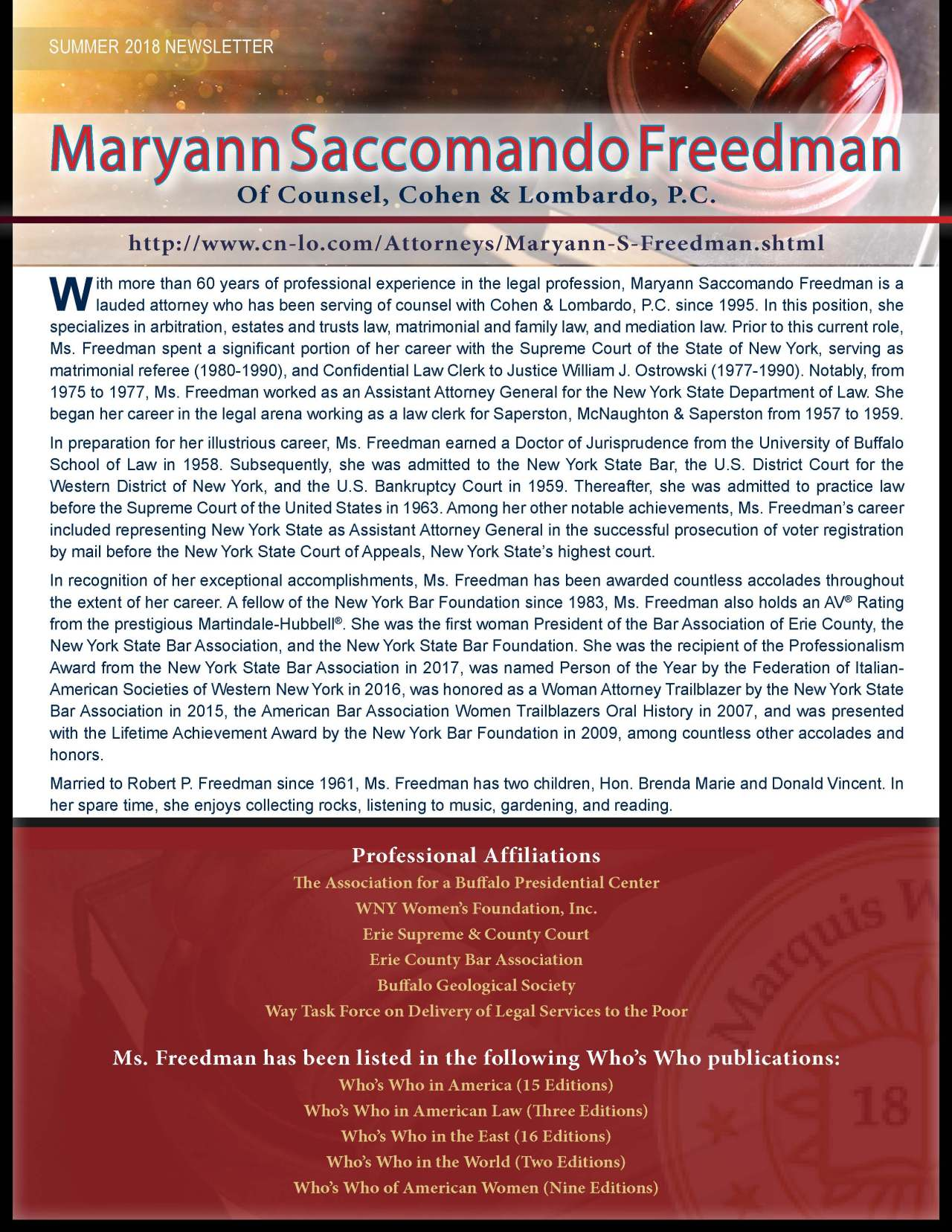 Freedman, Maryann 3699756_28432565 Newsletter REVISED.jpg