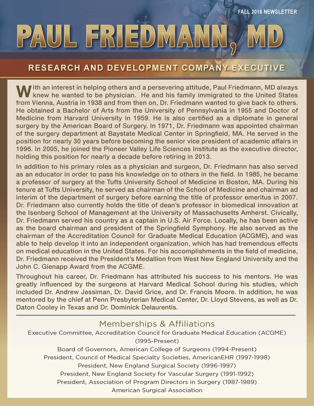 Friedmann, Paul 3992696_15690225 Newsletter
