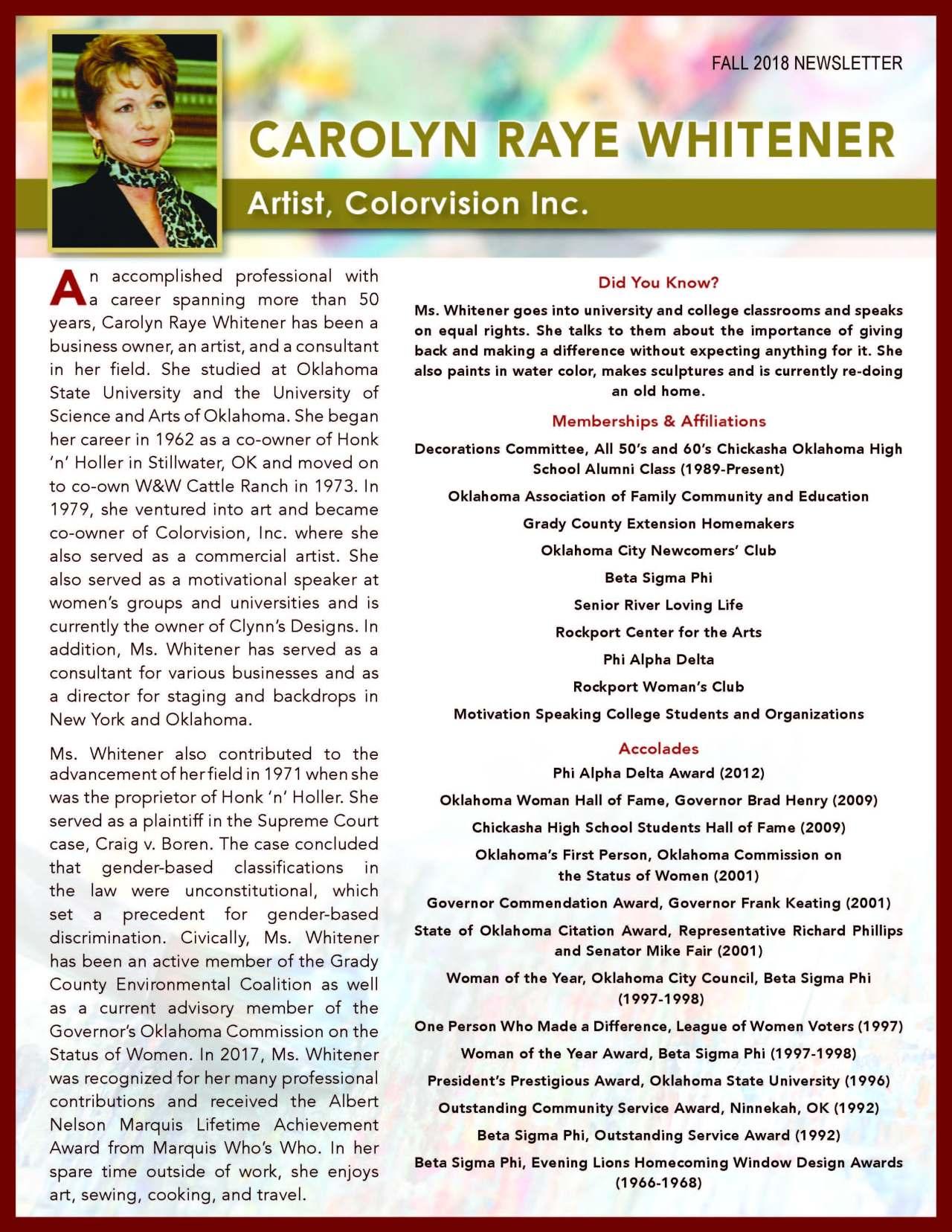 Whitener, Carolyn 3625670_27177476 Newsletter.jpg