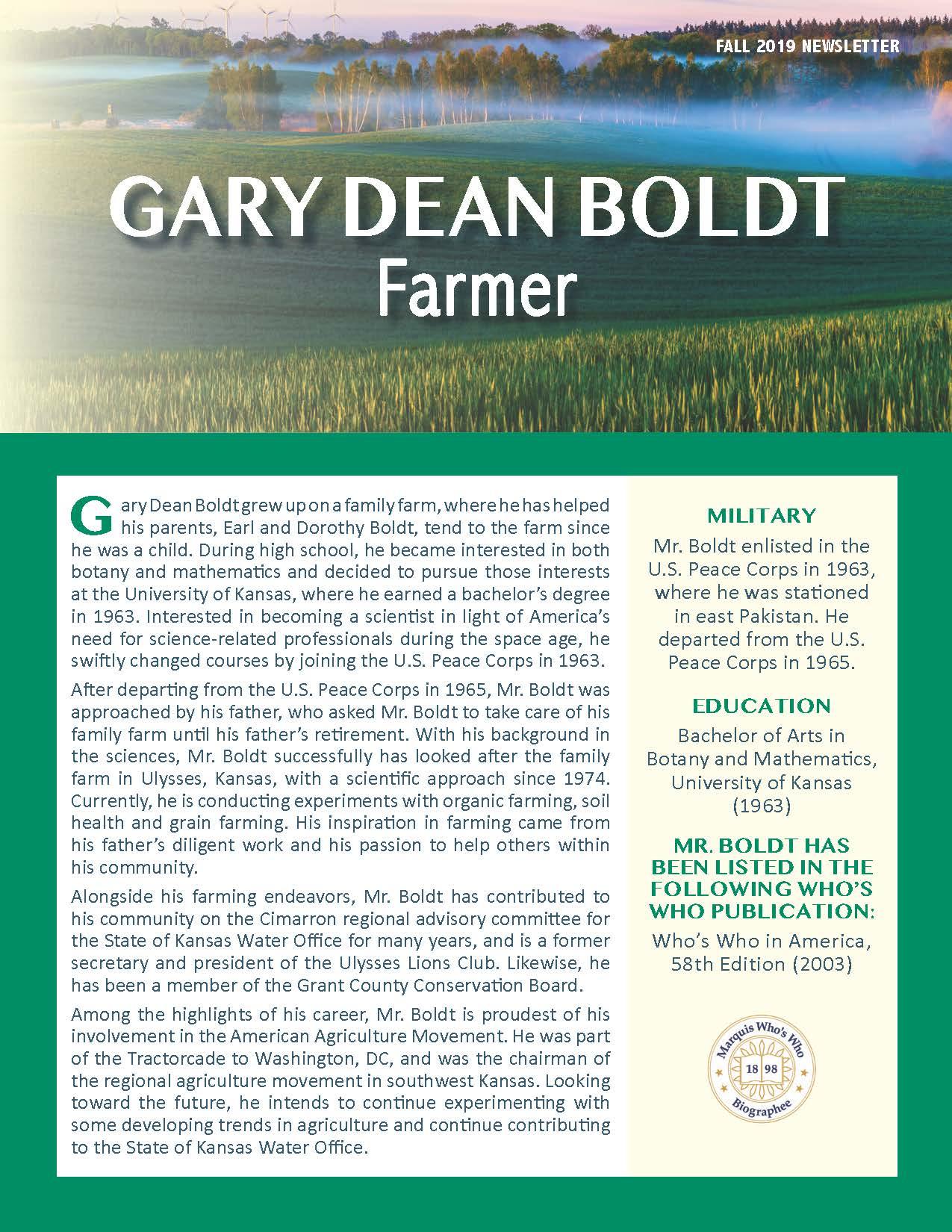 Boldt, Gary 4554978_30606114 Newsletter