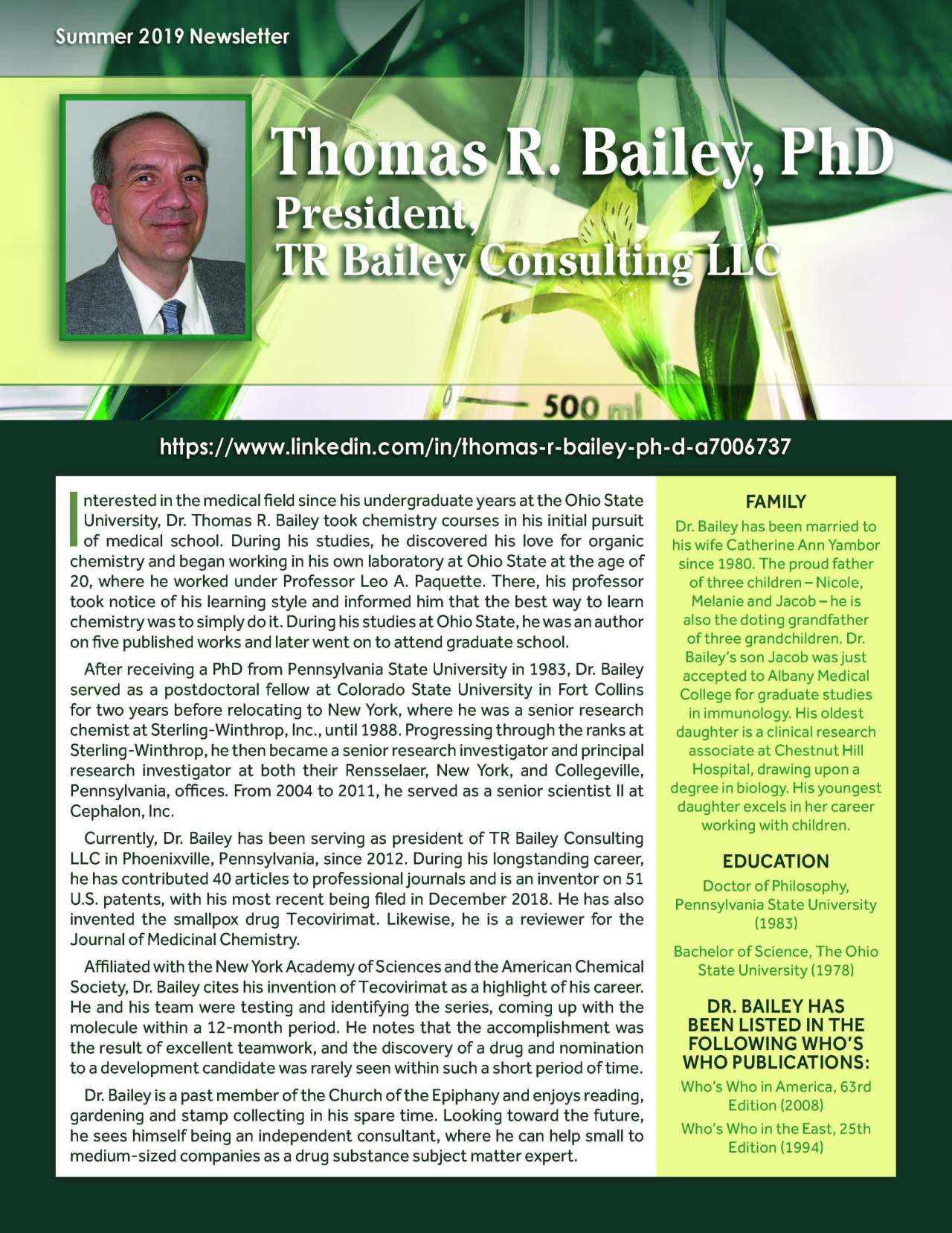 Bailey, Thomas 4317451_24063323 Newsletter REVISED