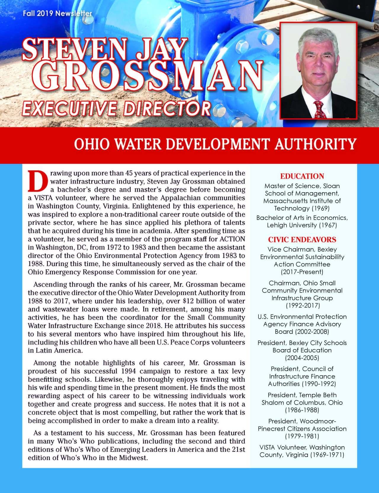 Grossman, Steven 4768185_4135237 Newsletter REVISED