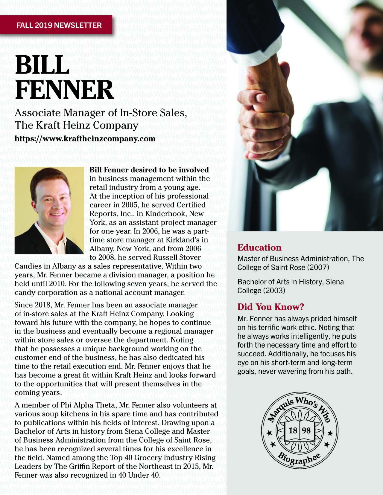 Fenner, William 4793554_4004793554 Newsletter